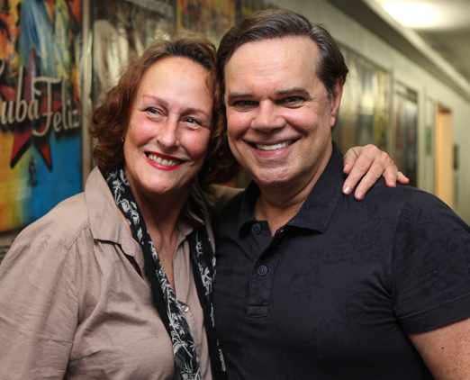 Betty Erthal e Diogo Vilela
