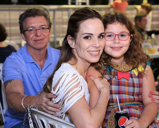 Boninho, Ana Furtado e Isabella