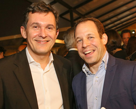 Brice Roquefeuil e David Mansaud