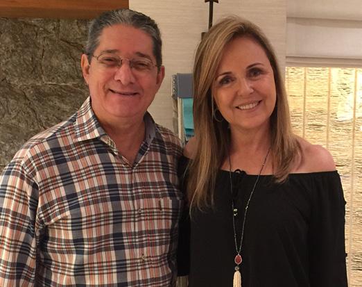 Célio Alzer e Eliane Couto