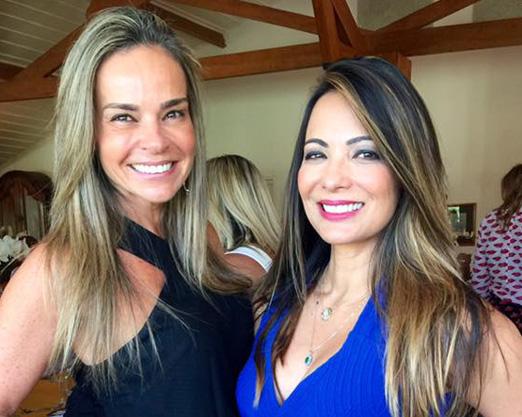 Carol Rajão e Marcia Romão