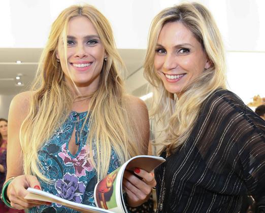 Carolina Dieckmann e Maria Rita Magalhaes Pinto