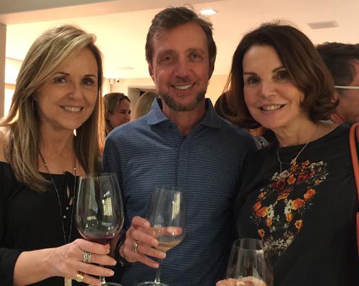 Eliane Couto, Nando Grabowsky e Patricia Mayer