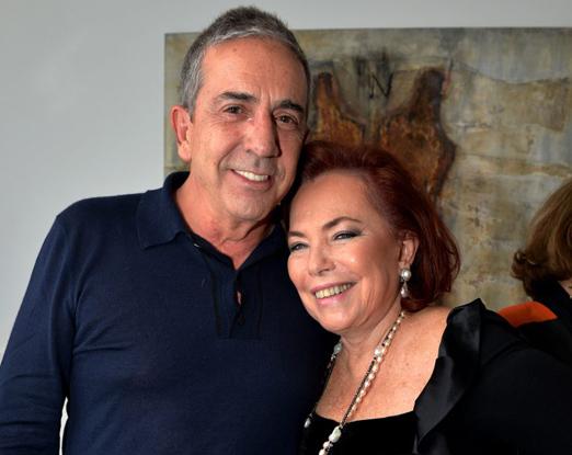 Enrique Monereo e Marise Muller