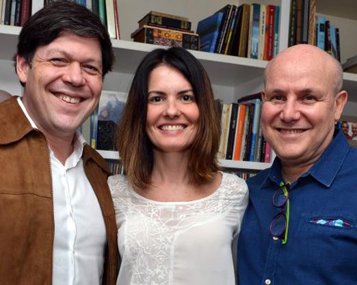 Evaristo de Moraes, Flavia Costa e Paulo Muller