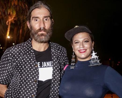 Felipe Velloso e Alice Caymmi