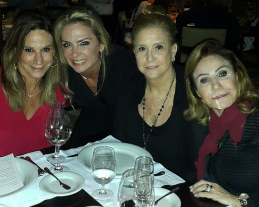 Gabriela Itagiba, Márcia Veríssimo, Madeleine Saade e Lea Nigri