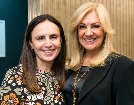 Germana Bahr e Alda Soares