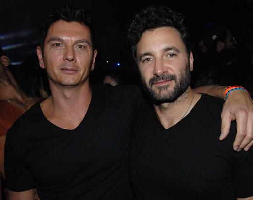Gianluca Perino e Rico Mansur