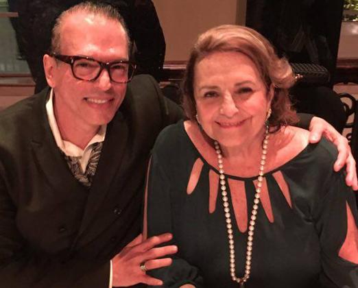 Heckel Verri e Lucinha Araújo