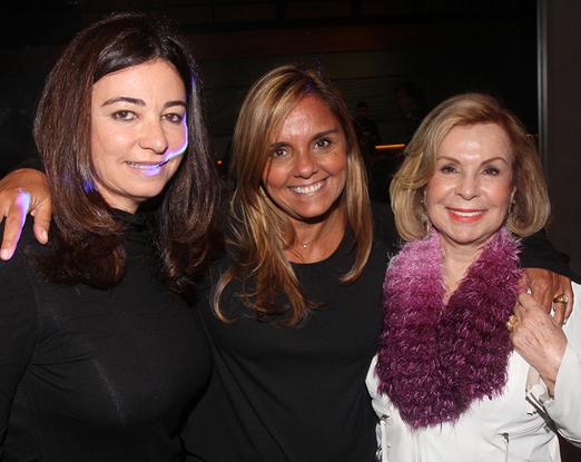 Hosana Pereira, Ana Paula Simas e Rachel Gusmão