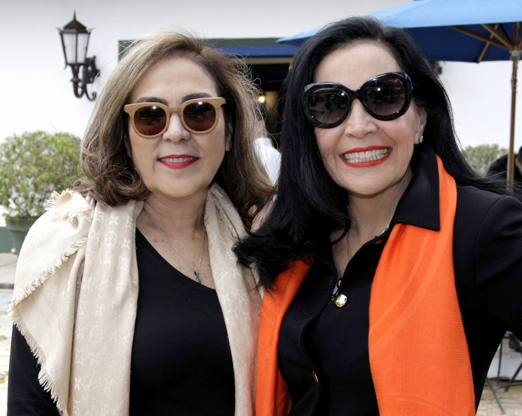 Jacyra Lucas e Liliana Rodriguez