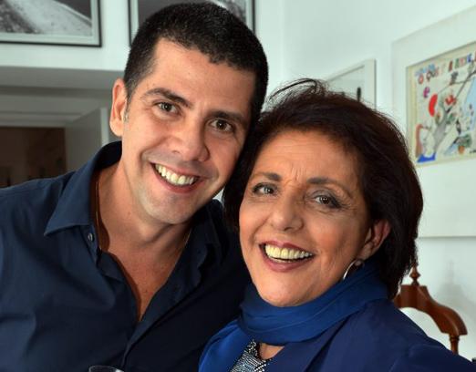 João Ricardo Coelho e Leda Nagle