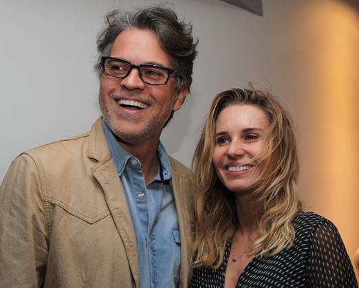 Juan Alba e Paula Burlamaqui