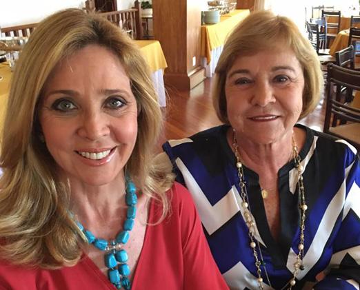 Kátia Spolavori e Consuelo Paes