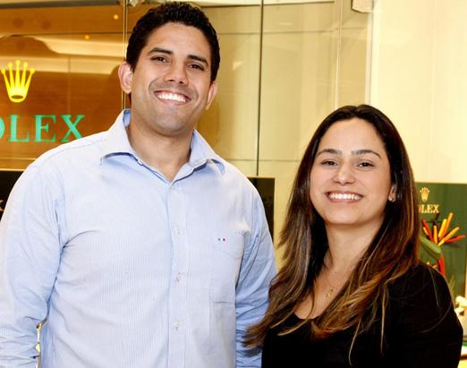 Leandro Santos e Paula Pacheco