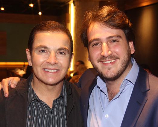 Luciano Negreiros e Nestor Rocha Filho
