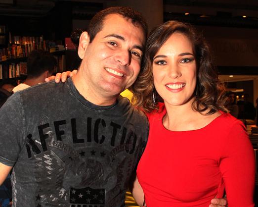 Luis Marta e Adriana Birolli