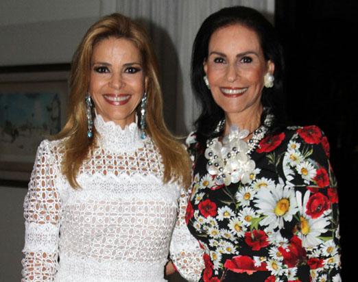 Manoela Ferrari e Beth Pinto Guimarães