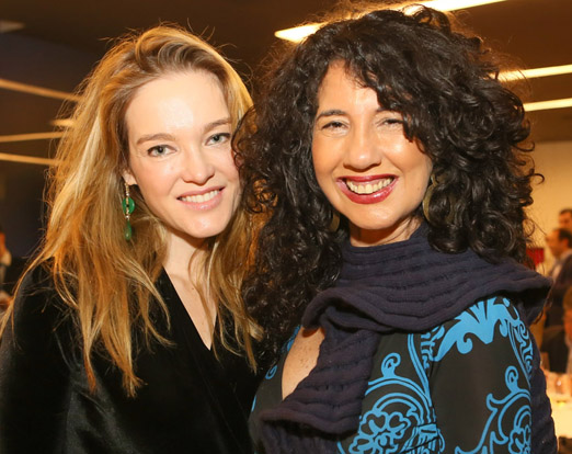 Marcella Torres e Bianca Teixeira