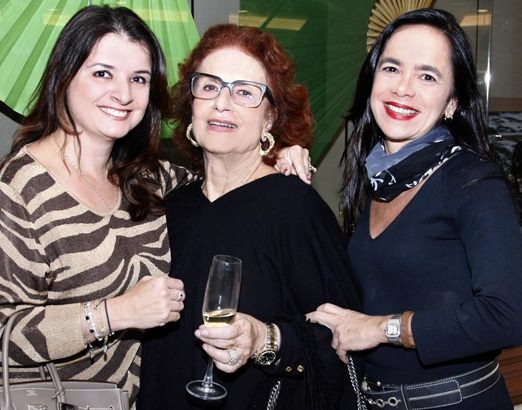 Marcia Alves, Eliana Moura e Karla Villar