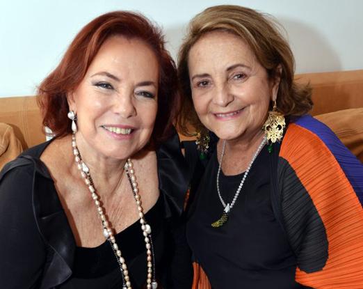 Marise Muller e Lucinha Araújo