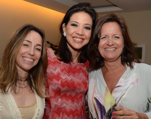 Monica Prinzac, Astrid Pereira e Francisca Nacht
