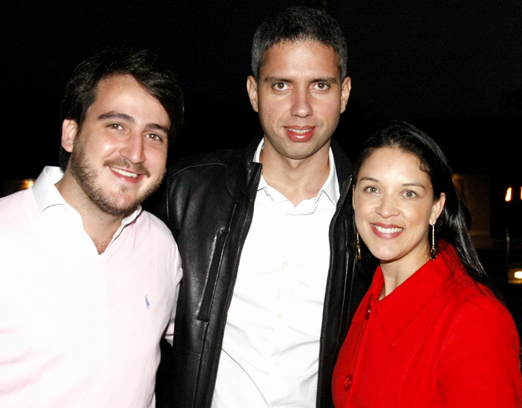 Nestor Rocha Filho, Renan Vinicius e Monique Nazario