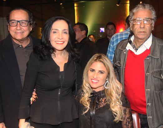 Nestor Rocha, Liliana Rodriguez, Ana Paula Barbosa e Neville D'Almeida
