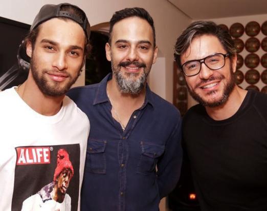 Pablo Morais, Marcelo Marins e Ricardo Tozzi