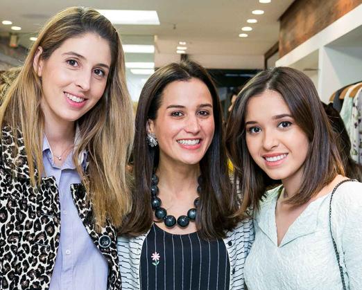 Paula Merlo, Joana Nolasco e Layla da Fonseca