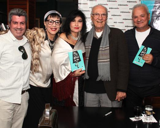 Renato Oliveira, Yacy Nunes, a cantora Hanna, Saturnino Braga e Paulo Couto