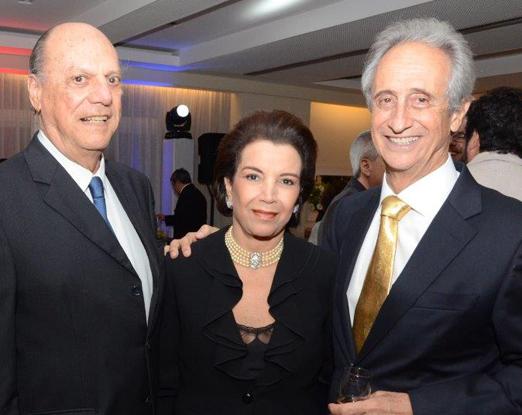 Rodrigo de Lacerda Soares, Angela Brant e Andres Cristian Nacht