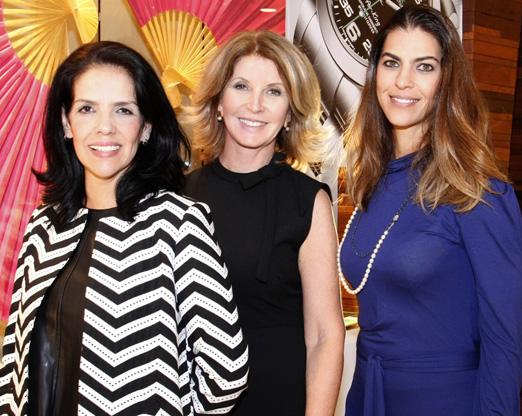Rosa Vasconcellos, Vera Rodrigues e Shanna Marun