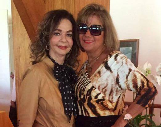 Vera Loyola e Rosana Rodrigues, a Fofa