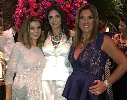 Adriana Siqueira, Rosangela Lyra e Lucilia Diniz