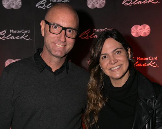 Alan Crean e Carol Sampaio