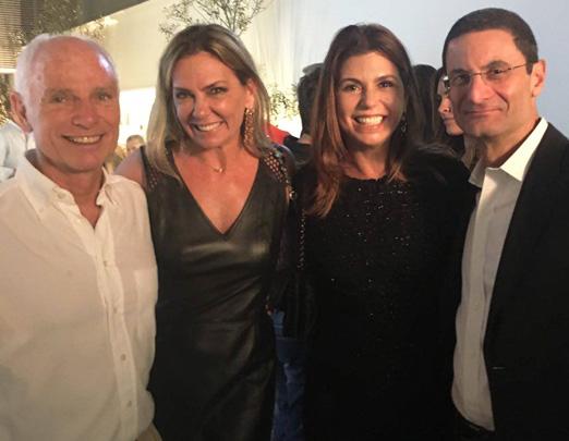 Alexandre Ibitinga, Márcia Veríssimo, Raquel Verri e Henrique Szapiro