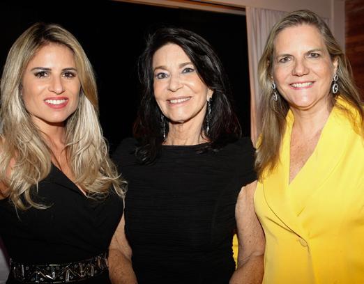 Ana Paula Barbosa, Teresa Aczel e Maninha Barbosa