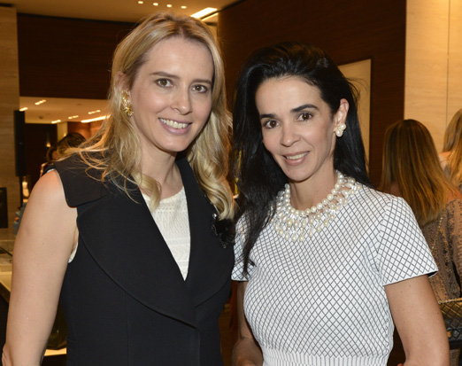 Anna Claudia Rocha e Ana Appolinario