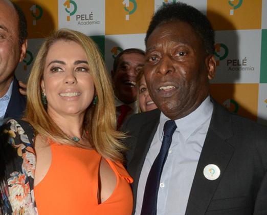 Ariadne Coelho e Pelé