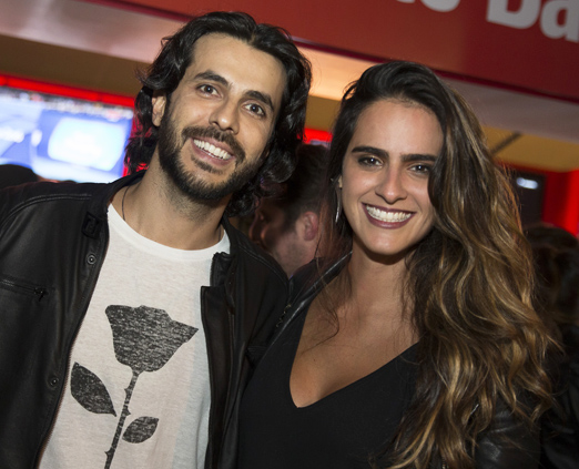 Arthur Fernandes e Marcella Fogaça