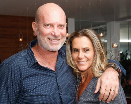 Benjamin Katz e Priscila Szafir