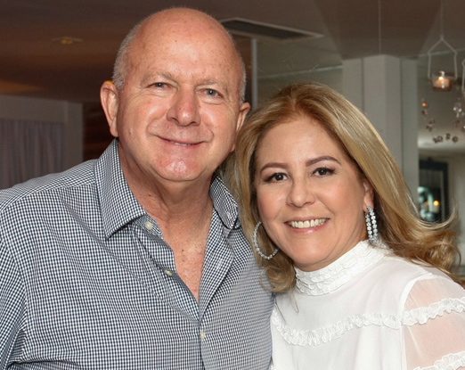 Bernard Rajzman e Denise Brenlha