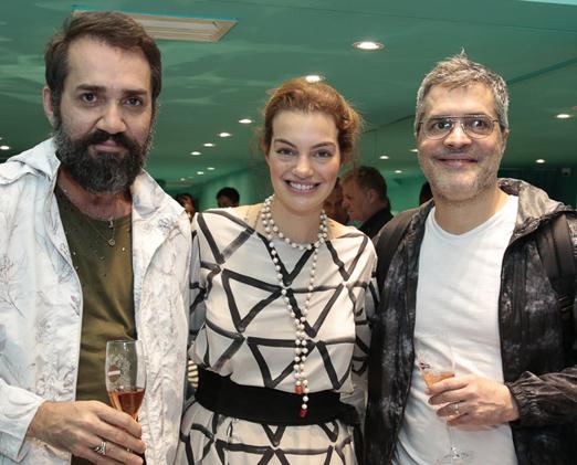 Beto Silva, Paula Proushan e Claudio Cadeco