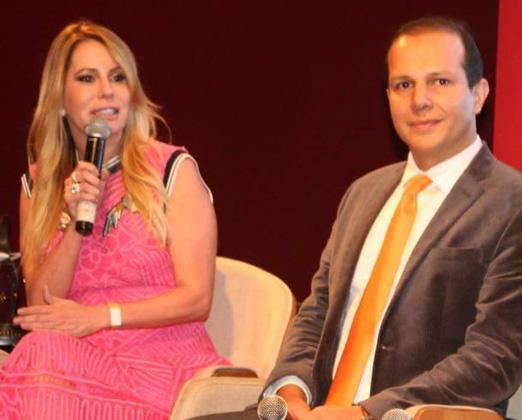 Carla Góes e Rodrigo Mangaravite