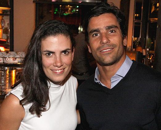 Carolina Rios e Bruno Colella