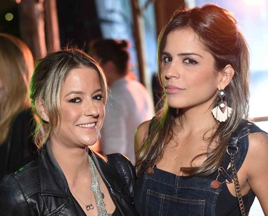 Celina Palhares e Renata Caldas