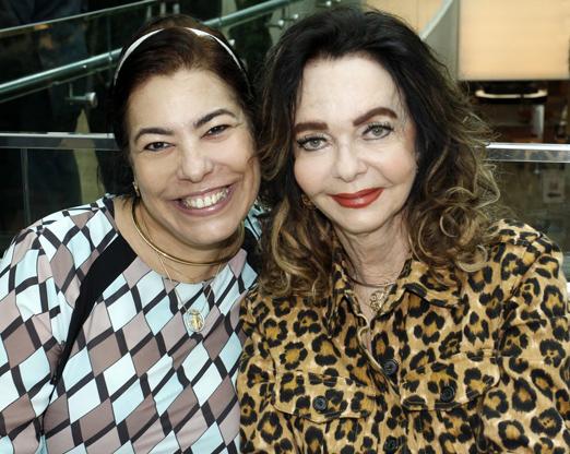 Claudia Cury e Vera Loyola