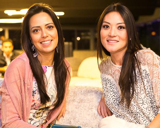 Danielle Chagas e Olivia Aki